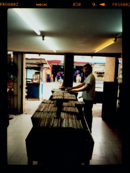 Miles In Colombia record Store